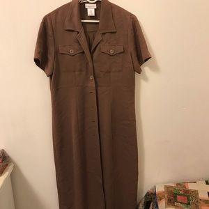 🔶 Taupe dress